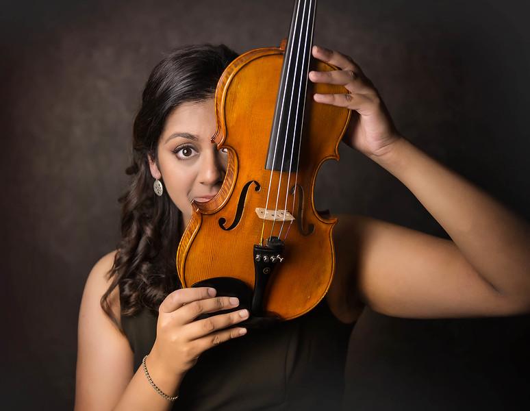 Senior girl  studio session - Marion Iowa - violin - TruYou photography 2.jpg