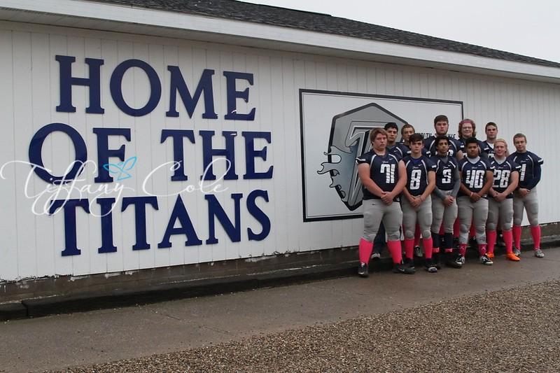 2015 MRHS Titans Senior Night