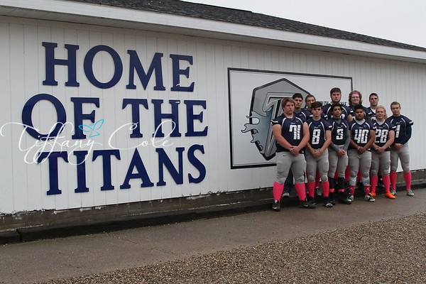 2015 MRHS Titans Senior Night
