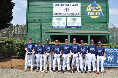 Varsity team Class shots