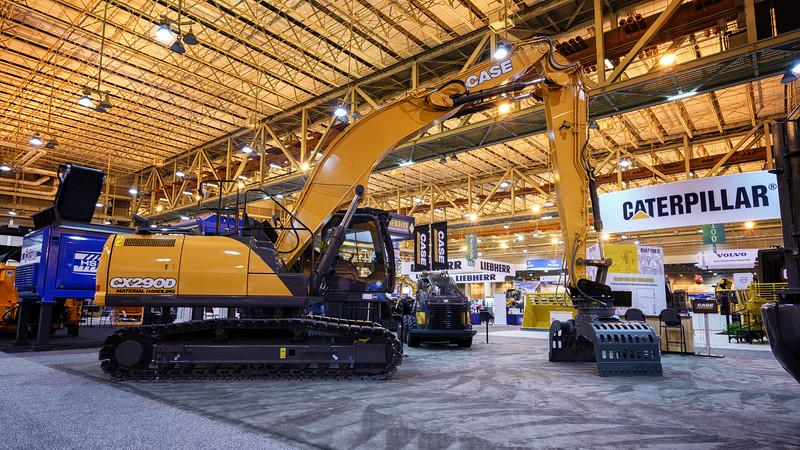 Case CX290D Material Handling Crawler Excavator