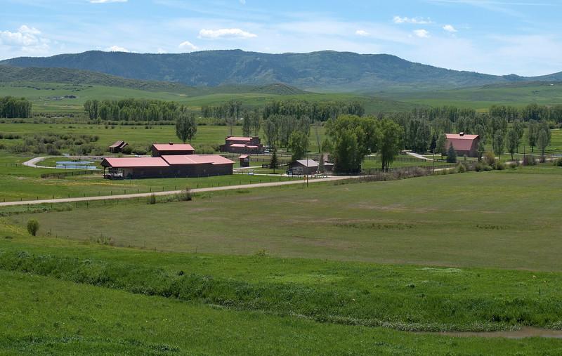 Elk River Ranch private saloon