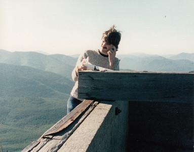 Garfield with Neesh, c. 1989