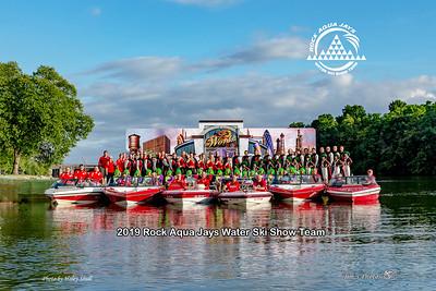 Waterski - Rock Aqua Jays - Sept 01, 2019 Team Photos