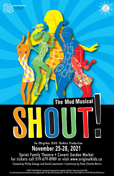Fall 2021 - Shout! The Mod Musical