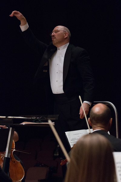 Music Director Jed Gaylin -- Hopkins Symphony Orchestra, April 2017