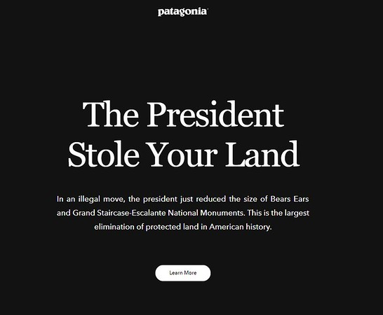 the president stole your land