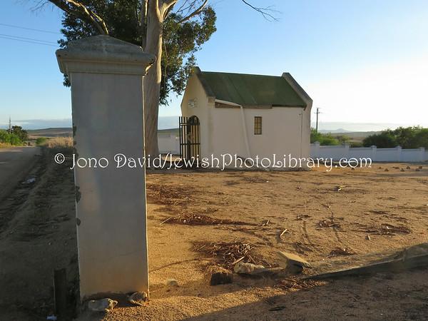 SOUTH AFRICA, Western Cape, Malmesbury. Malmesbury Jewish Cemetery (3.2014)