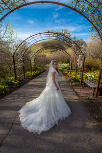 Kelsie Bridals Red Butte Gardens