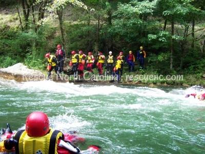 SRT Advanced; Rowan Rescue; October 2008