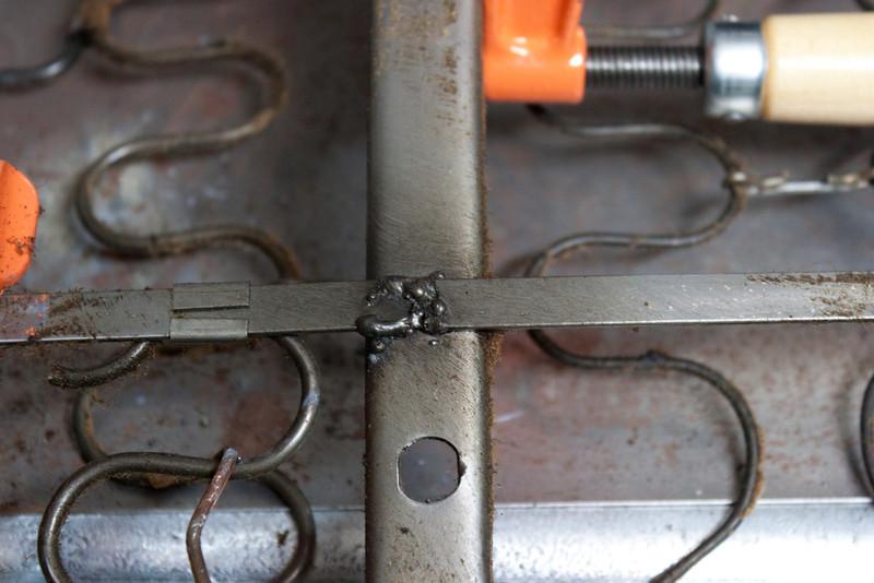 Driver's seat back spring repair