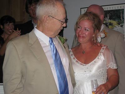 Maggie & Sid's Wedding festivities