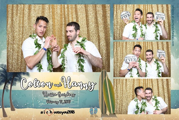 Colton & Hanny's Wedding (Mini Open Air Photo Booth 2)