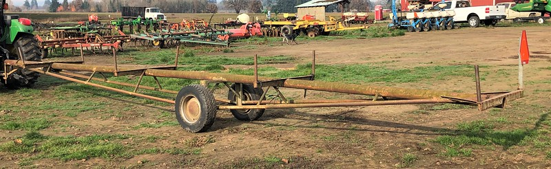Irrigation pipe trailer #31