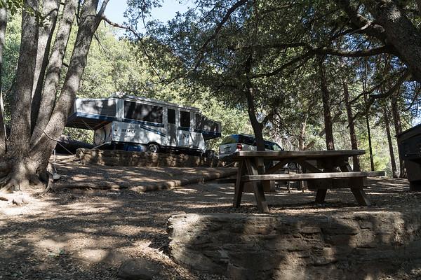 Camping at Santee Lakes and Palomar Mountain 2020