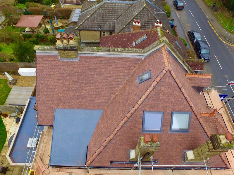 Clay Plain Tile New Roof