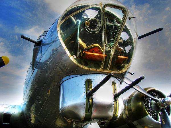 Aluminum Overcast B-17