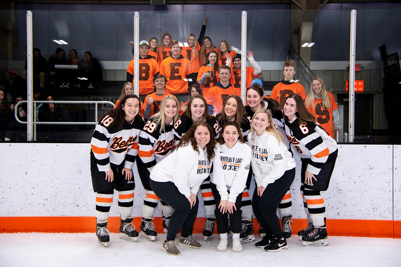 White Bear Lake Girls Hockey Senior Night Portraits