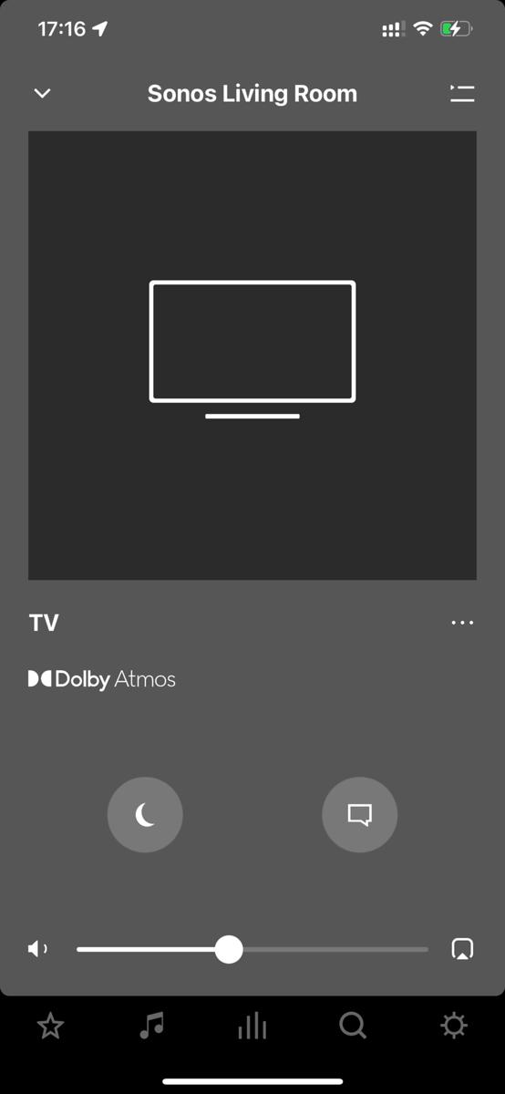 Netflix with Atmos on Sonos Beam
