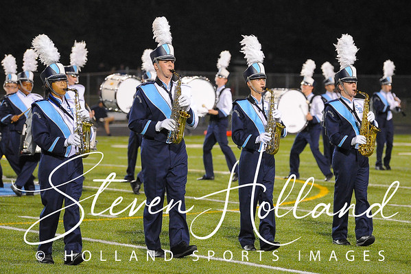 Band - Stone Bridge Marching Bulldogs Homecoming 10.05.2018 (by Steven Holland)