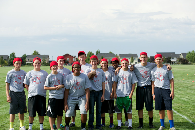 Red Hat Football Camp 7-31-14