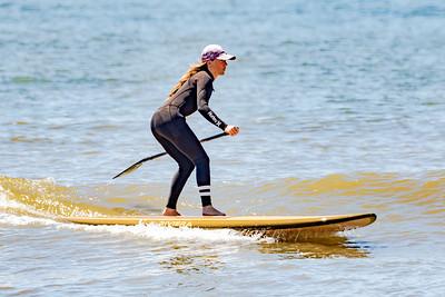 Jenny Hanono SUPing Long Beach 6-13-20