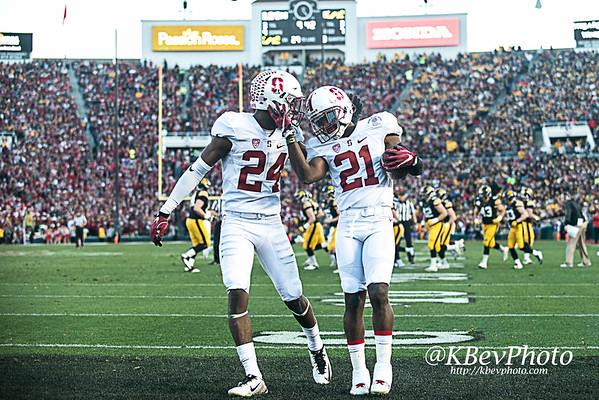 102nd Rose Bowl: Stanford 45 v Iowa 16 (Jan 16)