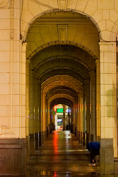 Arches on the east side of the Bay
