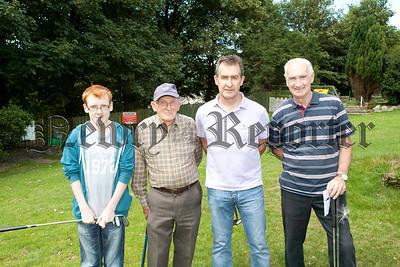 Rory Magee, hugh Rowland, Paul O Hagan and Trevor Aulds.