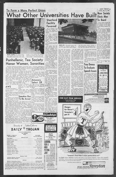 Daily Trojan, Vol. 54, No. 117, May 14, 1963