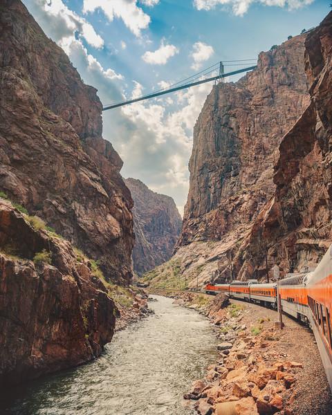 Royal Gorge and the Canyon Railway