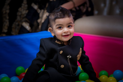 Arjun's 1st Birthday