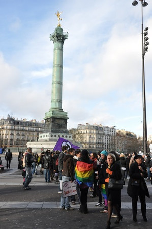 Marriage Equality Demonstration, Paris