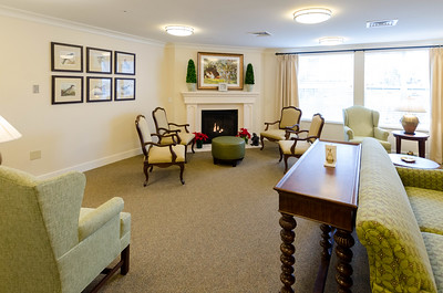 Community room, TV Lounge, Fireplace