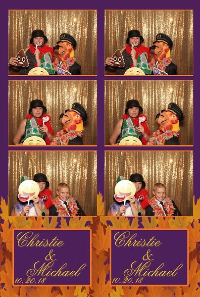 Christie & Michael's Wedding (10/20/18)