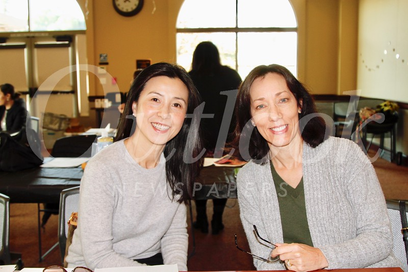 Genevieve Chien and Connie Knott