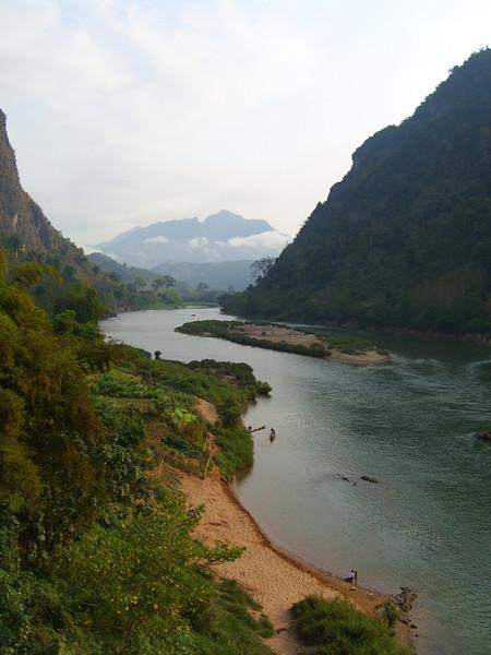 Mountains and Nam Ou River Views - Nong Khiaw, Laos