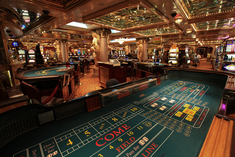 casino on the cruise ship