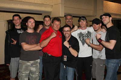 CRISTOPHER JAMES HOST THE XFC