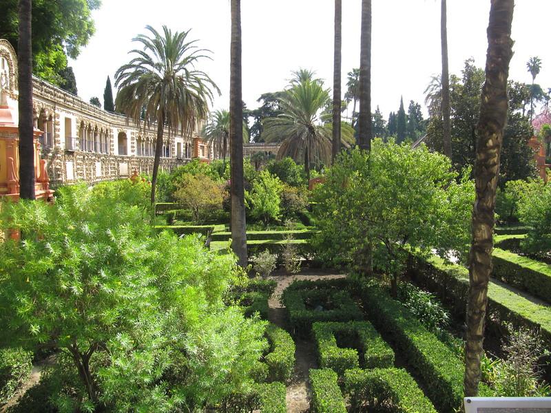 Gardens at Real Alcázar
