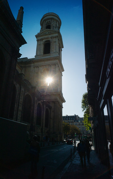 Church of Saint-Sulpice, Paris.