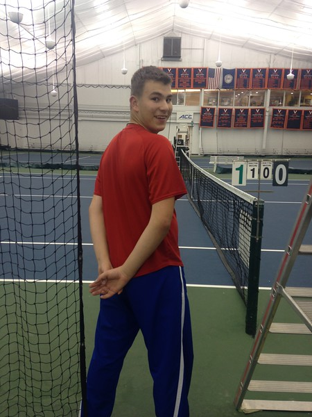 Cadets Volunteer at National Special Olympics Tennis Tournament