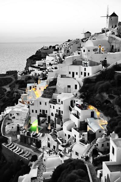 Santorini Detail