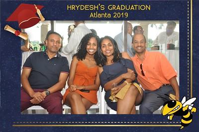Hrydesh's Graduation Party-5/25/2019