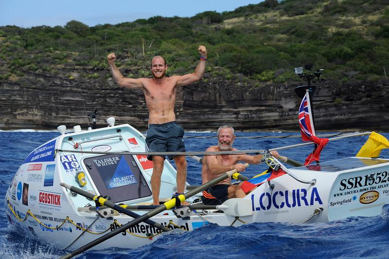 Mike Burton, Tom Salt complete the Talisker Transatlantic rowing race in Antigua