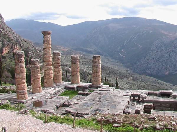 Delphi, Greece - February 2005