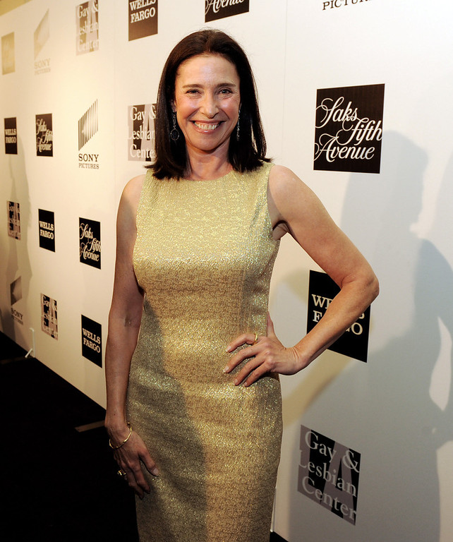 ". Actress Mimi Rogers arrives at ""An Evening\"" benifiting The L.A. Gay & Lesbian Center at the Beverly Wilshire Hotel on March 21, 2013 in Beverly Hills, California.  (Photo by Kevin Winter/Getty Images)"