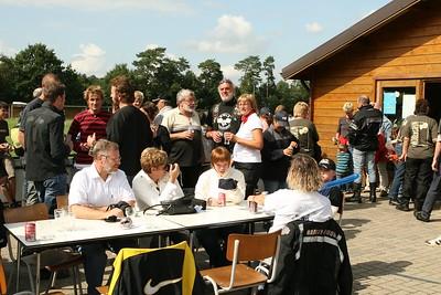 Zandbergrun 2007 - Tussenstop