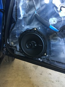 2005 Subaru Impreza 2.5 RS Front Door Speaker Installation - USA