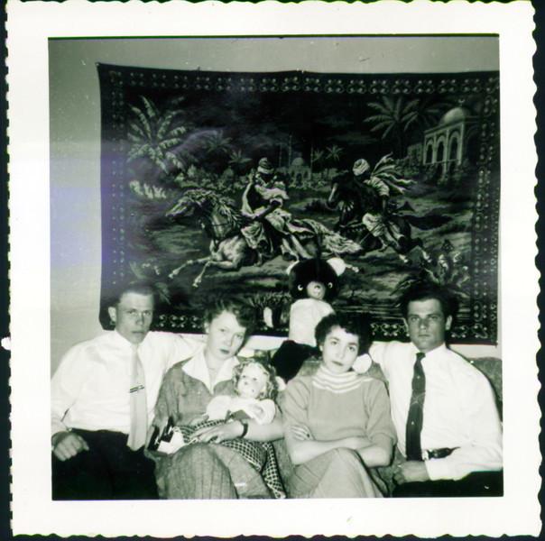 Nick Bazarni, Mom, Inge Schroeder, & Helen Mazarenko's brother